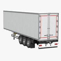 semi trailer 3D model