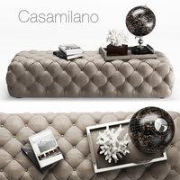 Casamilano Hyatt Ottoman  160