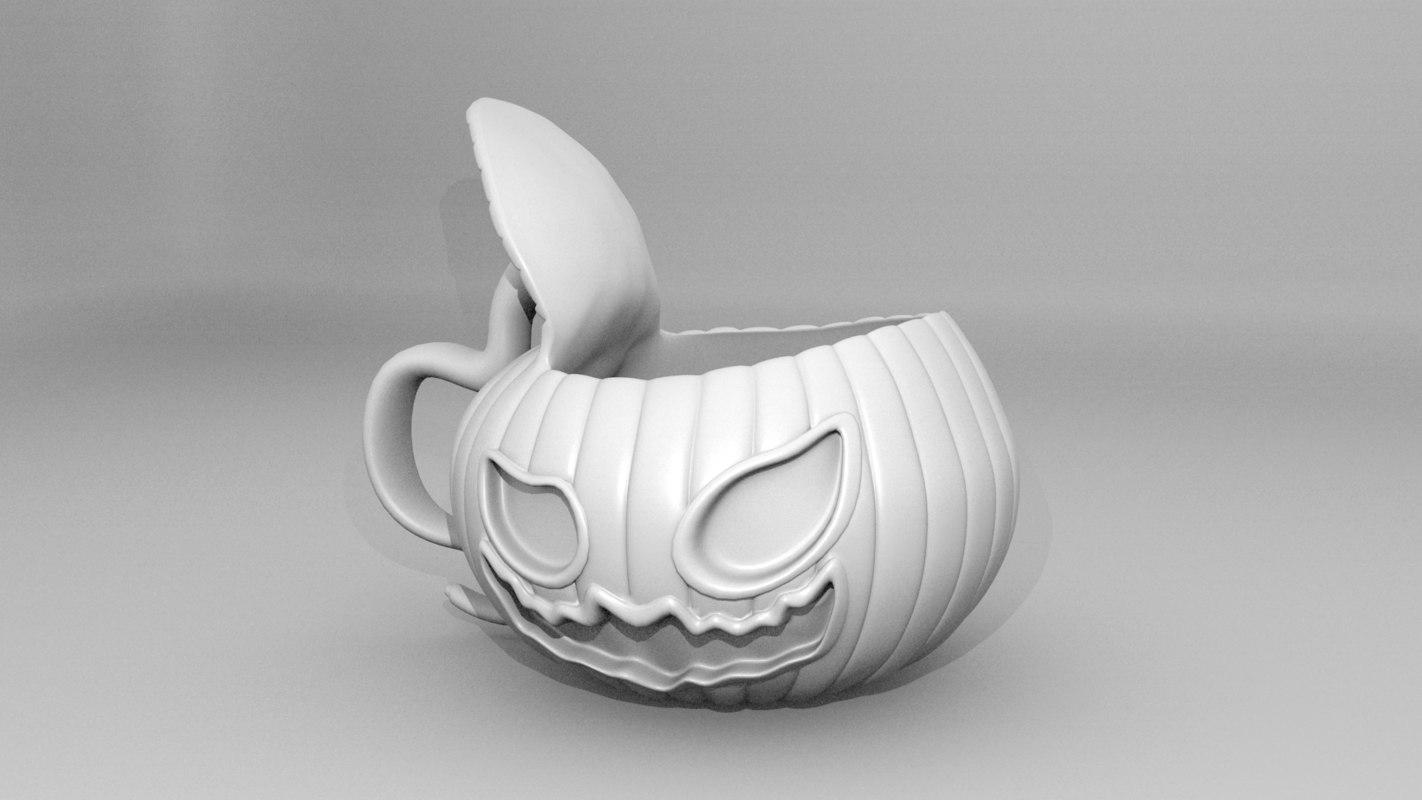 pumpkin mug model