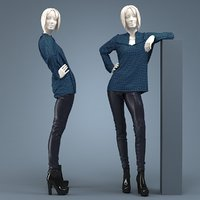 blouse pants model