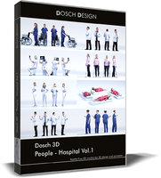 Dosch 3D - People - Hospital Vol 1