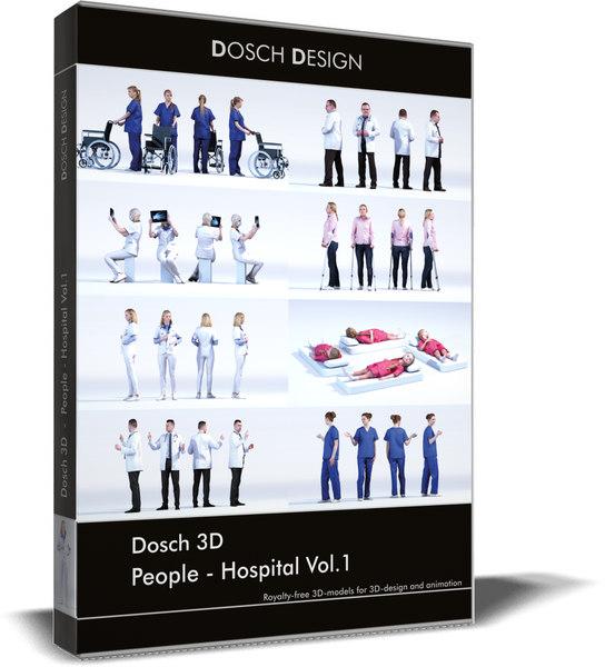 people vol 1 3D model