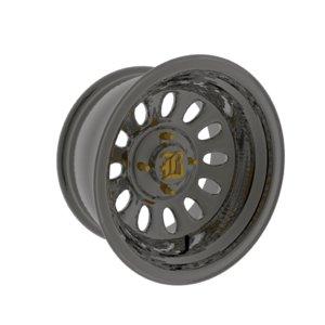 wheel polaris rzr 900 3D model