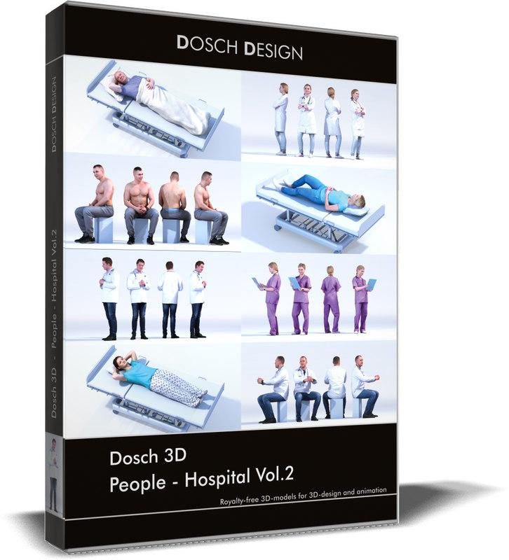 people vol 2 3D model