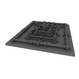 3D angkor wat