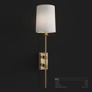 3D hudson lighting fredonia model