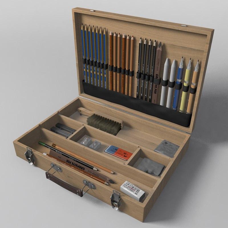drawing set model