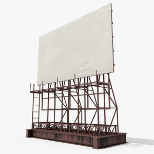 rooftop billboard 3D