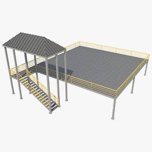 3D industrial platform