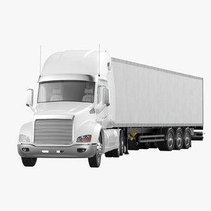 semi-trailer truck model