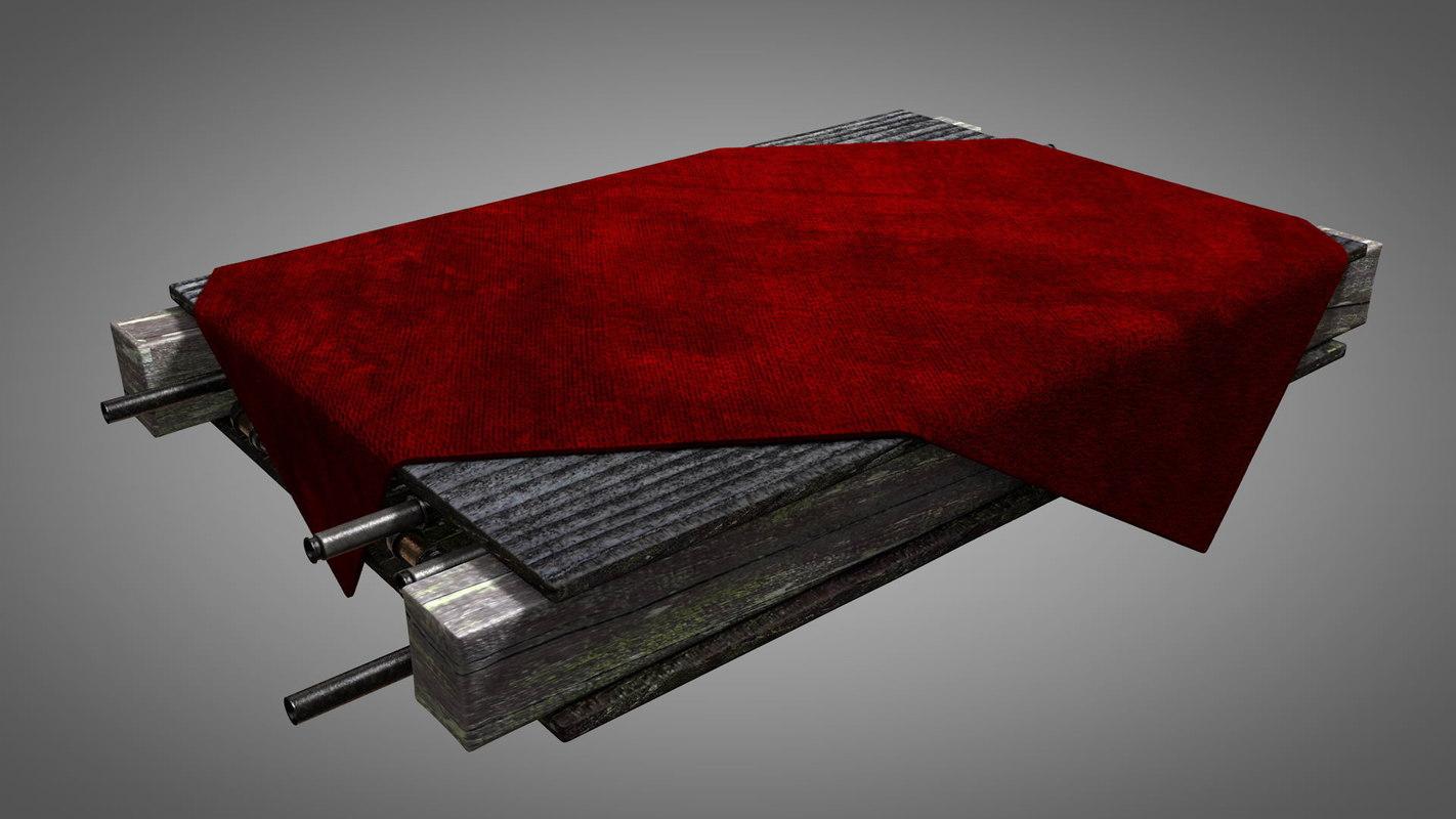 presentation stage carpet model
