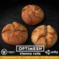 vienna rolls pack 3D