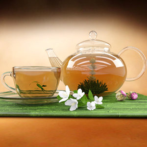 3D tea jasmine
