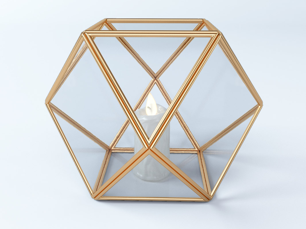 terrarium facets maisons 3D model