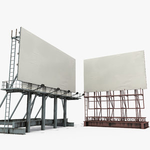 rooftop billboards 3D