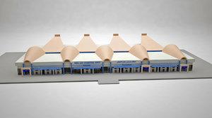 3D marsa alam airport terminal
