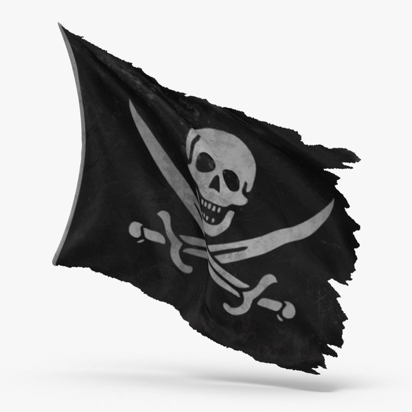 pirate-flag-01---v3 3D model