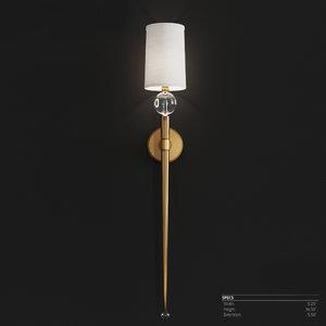 hudson lighting serena aged 3D model