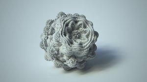 set fractals 3D model