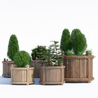 3D versailles planter model