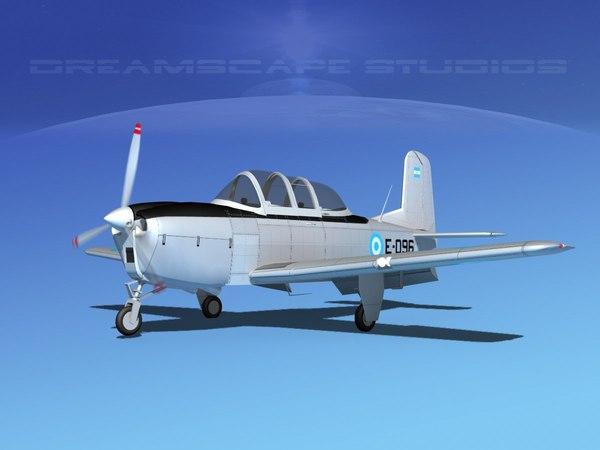 beechcraft t-34 mentor model