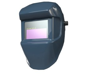 3D model welding helmet