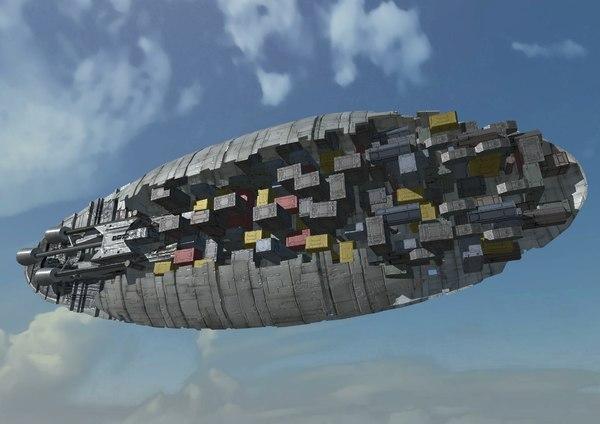 ready gr-75 transport rebel 3D model