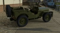 3D model willy s jeep