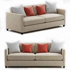 3D dryden sofa model