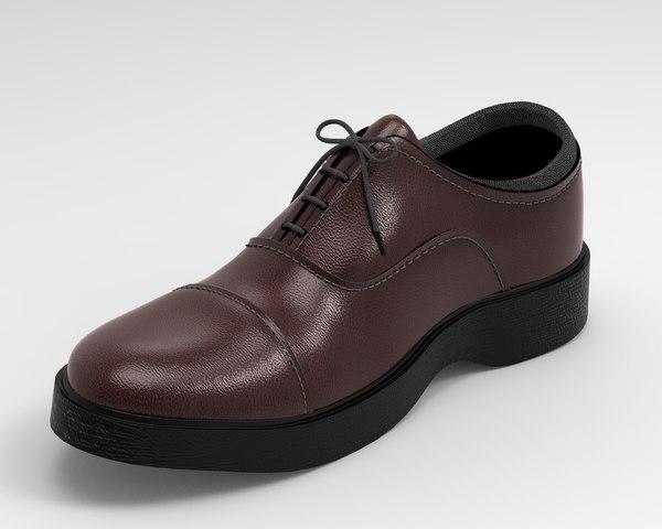 3D s shoes model