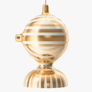 3D bosa scuba b lamps model