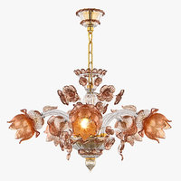 3D model chandelier md 89310-5 osgona