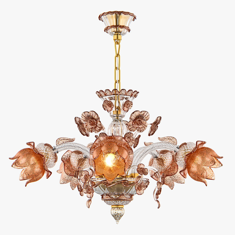 3D model chandelier md 89310-5 osgona