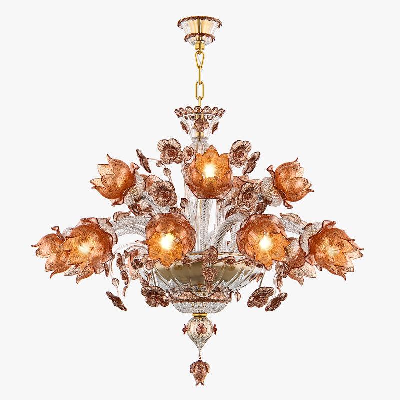 chandelier md 89310-10 5 3D model