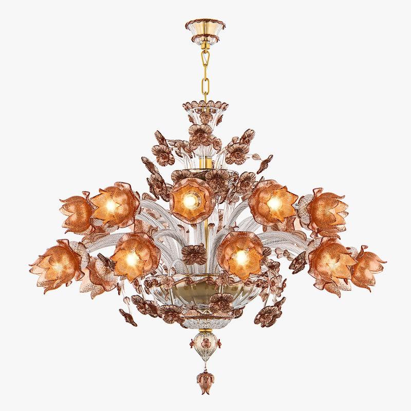 3D chandelier md 89310-10 10 model