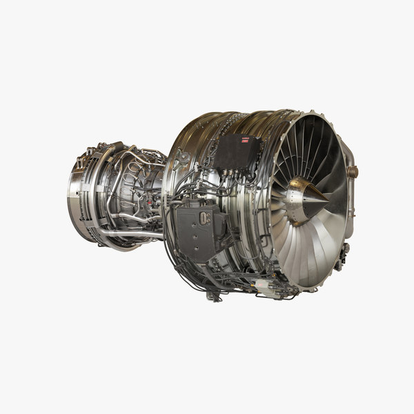 3D jet engine cfm56