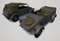 world war kubelwagen 3D