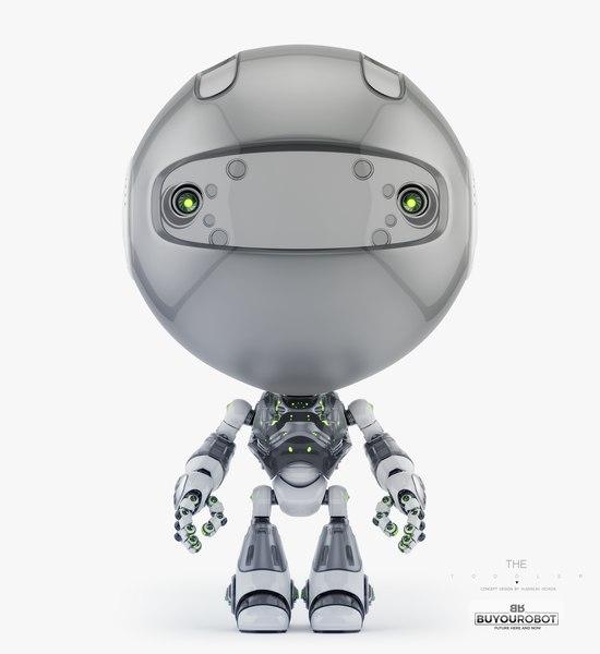 toddler 3D model