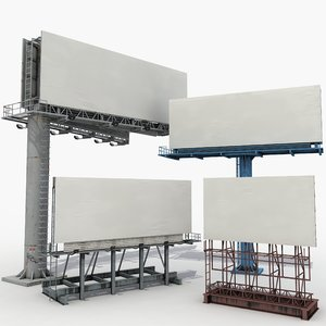 3D street billboards