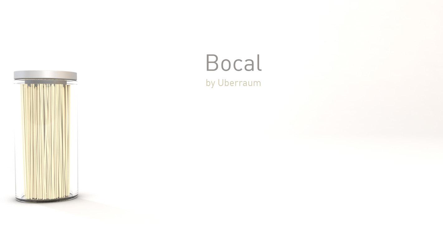 bocal modelled 3D model