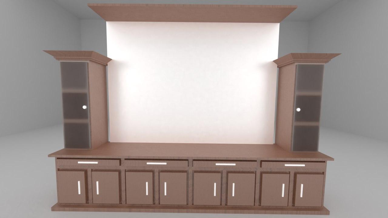 3D presentation desk