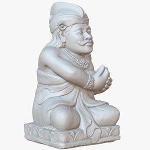 sculpture bali guardian 1m model