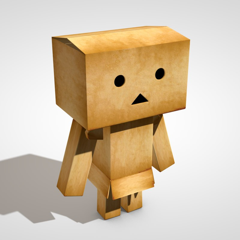 3D danboard danbo model