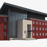 alexandria police headquarters building 3D