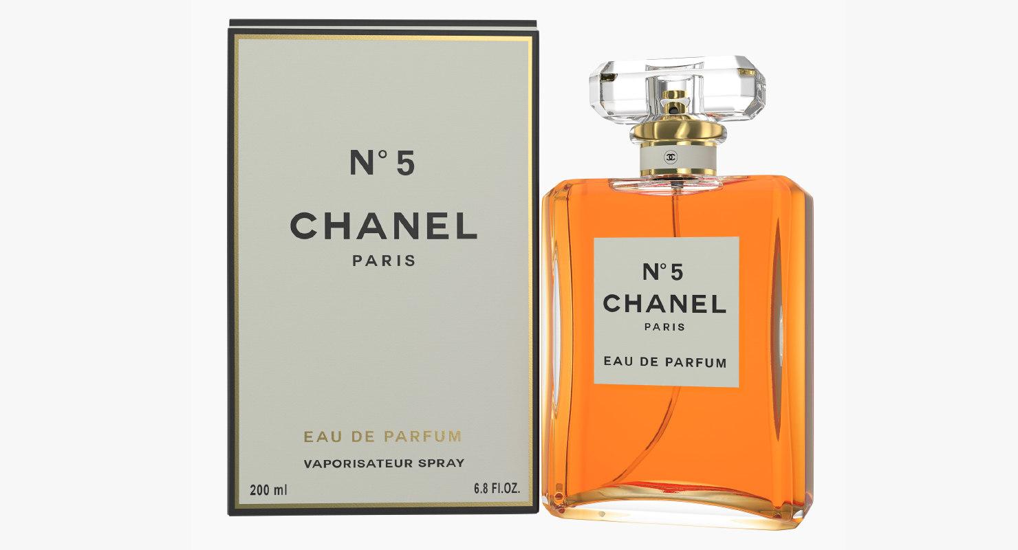 Chanel No 5 Eau De Parfum Spray With Box