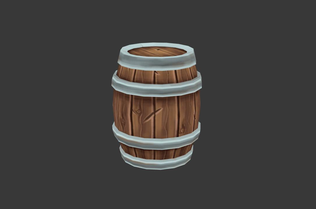 3D barrel environment games