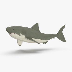 shark---upward 3D