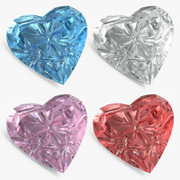 diamond hearts set model