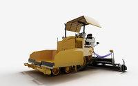 3D road paver