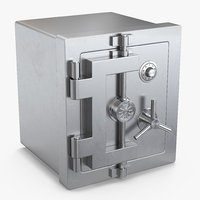 steel bank safe model